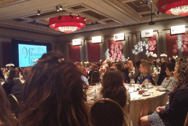 Guests at their Tables at AC Women's Forum of 2015